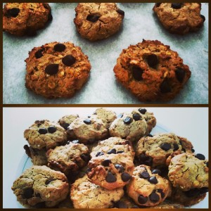 My Version of Healthy Chocolate Chip Cookies!
