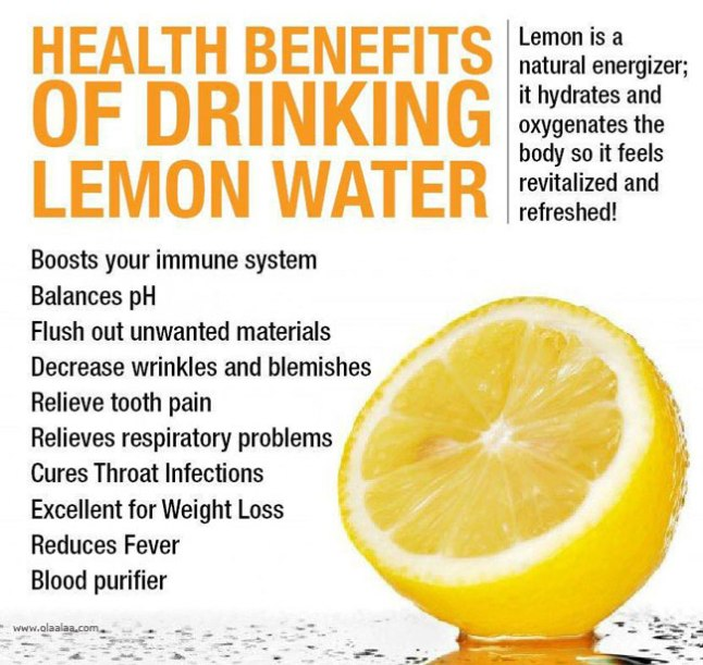 Lemon Water Benefits