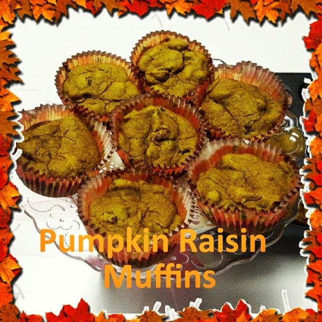 PumpkinRaisinMuffins