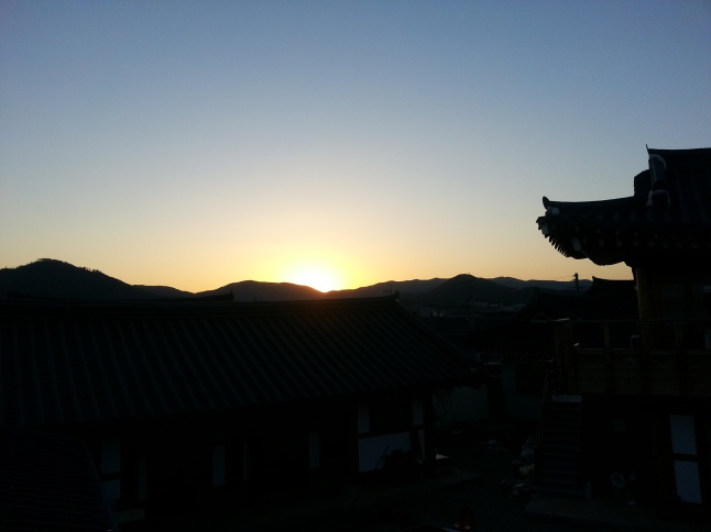 sunset_gyeongju